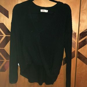 hollister wrap sweater